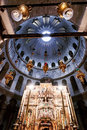 Church of the Holy Sepulchre in old city Jerusalem, Israel. Royalty Free Stock Photo