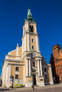 Church of the holy spirit in torun poland on march built in by protestants who were deprived their home temple after religious Royalty Free Stock Photography