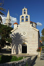 Church of Holy Trinity in Budva Royalty Free Stock Photo