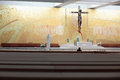 Church of the holy trinity interior new in fatima igreja da santissima trindade portugal Stock Image