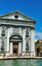 The Church of I Gesuati  in Venice Royalty Free Stock Photo