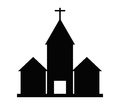 Church icon illustrated