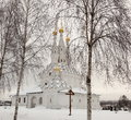 Church of Icon of the Virgin Hodegetria in Vyazma. Royalty Free Stock Images