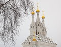 Church of Icon of the Virgin. Vyazma. Russia. Royalty Free Stock Image