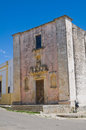 Church of immaculate felline puglia italy perspective the Stock Photography