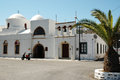 Church on the island of Patmos Royalty Free Stock Photo