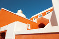 Church on island of santorini oia greece the Royalty Free Stock Photography