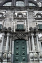 Church of the jesuit college ponta delgada portugal at Royalty Free Stock Photography