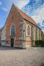 Church johannes kapelle in the historical center of munster germany Stock Photography