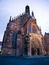 Church lady nuremberg our Στοκ εικόνες με δικαίωμα ελεύθερης χρήσης