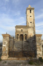 Church of Las Salinas in Cabo de Gata, Spain Royalty Free Stock Photography