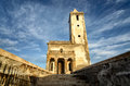 Church of Las Salinas in Cabo de Gata, Spain Royalty Free Stock Image