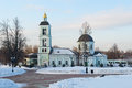 Church of the life giving spring in tsaritsyno moscow russia Stock Image