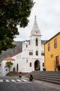 Church in Los Silos. Tenerife, Canary Islands Stock Photo