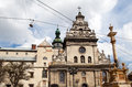 Church in Lviv Stock Images