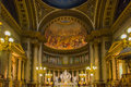 Church madeleine interior of paris france Stock Photo