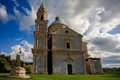 The Church of the Madonna di San Biagio Royalty Free Stock Image