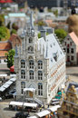 A church in madurodam miniature city of the hague Stock Photo