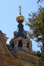 Church of Mary Magdalene, Jerusalem Royalty Free Stock Image