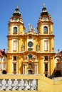Church in Melk Abbey Stock Photos