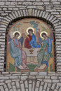 Church mosaic details Royalty Free Stock Photography