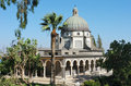 Church on the Mount of Beatitudes Stock Images