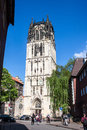 Church in munster germany muenster may on may it is the city s main as well as the center of the diocese of Stock Images