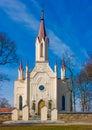 Church in Musninkai Stock Photos