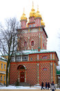 Church of the nativity of st john the baptist sergiev posad russia january in trinity sergius lavra sergiev posad russia Stock Images