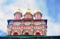 Church of the nativity of st john the baptist in trinity sergius lavra sergiev posad russia unesco world heritage site Stock Images