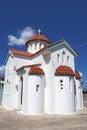 Church near kissamos crete greece beautiful Stock Image