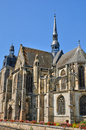 Church of Nogent le Roi in Eure et Loir Royalty Free Stock Images