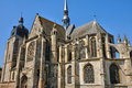 Church of Nogent le Roi in Eure et Loir Royalty Free Stock Photo