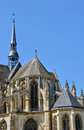Church of Nogent le Roi in Eure et Loir Royalty Free Stock Photography