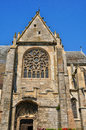 Church of nogent le roi in eure et loir france the Stock Photography
