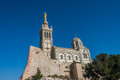Church of Notre Dame de la Garde, Marseille, France Royalty Free Stock Photo