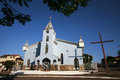 Church old in minas gerais brazil Stock Images