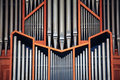 Church organ Royalty Free Stock Photo