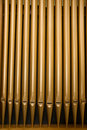 Church Organ Pipes Royalty Free Stock Images