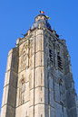 Church in Oudenaarde, belgium Royalty Free Stock Images