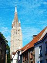 The Church of Our Lady in Brugge Royalty Free Stock Images