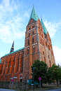 Church of our lady in lubeck germany Royalty Free Stock Photography