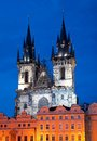 Church of our lady in prague czech republic Royalty Free Stock Photo