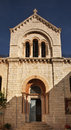 Church of our lady of spasm in jerusalem israel Stock Photography