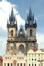 Church of Our Lady Before Tyn Royalty Free Stock Photo