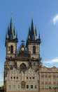 Church of Our Lady before Tyn, Prague Royalty Free Stock Photo