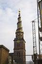 Church of our savior in copenhagen Stock Photography