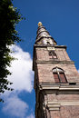 Church of our saviour copenhagen in Royalty Free Stock Photography