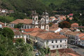Church in Ouro Preto Royalty Free Stock Photo
