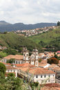 Church in Ouro Preto Stock Photo